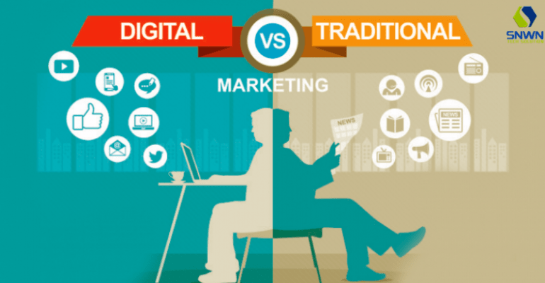 Digital Vs Traditional Marketing